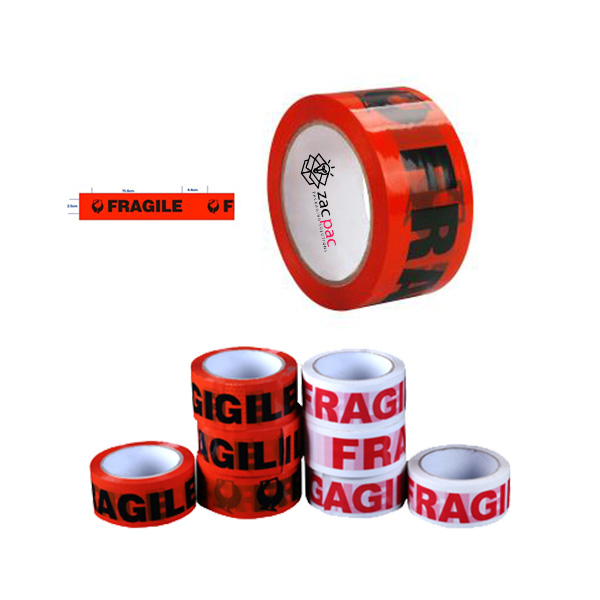 red fragile tape